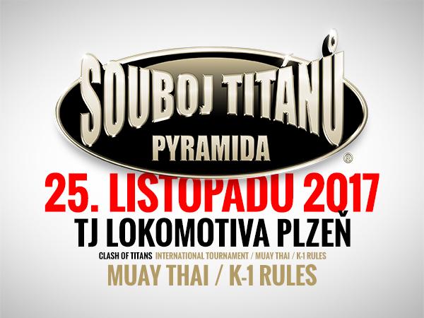 Souboj Titánů připraven.